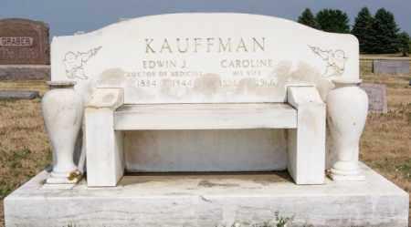 KAUFFMAN, CAROLINE - Turner County, South Dakota | CAROLINE KAUFFMAN - South Dakota Gravestone Photos