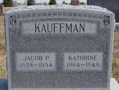 KAUFFMAN, KATHRINE - Turner County, South Dakota | KATHRINE KAUFFMAN - South Dakota Gravestone Photos