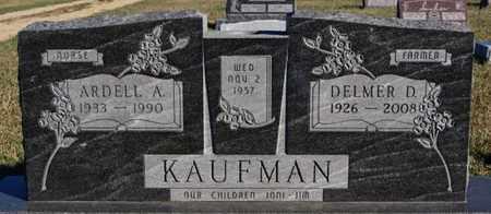 KAUFMAN, ARDELL A - Turner County, South Dakota | ARDELL A KAUFMAN - South Dakota Gravestone Photos