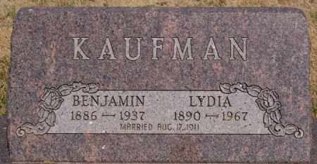 KAUFMAN, BENJAMIN - Turner County, South Dakota | BENJAMIN KAUFMAN - South Dakota Gravestone Photos