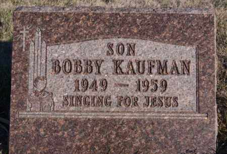 KAUFMAN, BOBBY - Turner County, South Dakota | BOBBY KAUFMAN - South Dakota Gravestone Photos