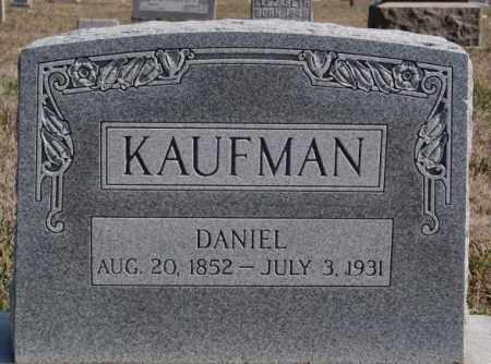 KAUFMAN, DANIEL - Turner County, South Dakota | DANIEL KAUFMAN - South Dakota Gravestone Photos