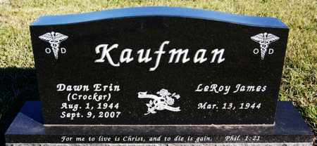 CROCKER KAUFMAN, DAWN ERIN - Turner County, South Dakota | DAWN ERIN CROCKER KAUFMAN - South Dakota Gravestone Photos