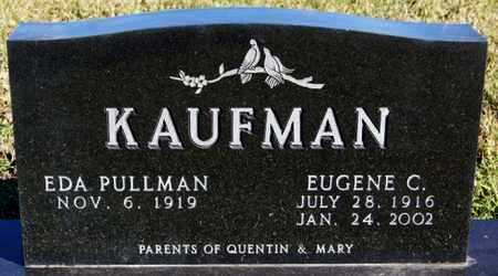 KAUFMAN, EUGENE C - Turner County, South Dakota | EUGENE C KAUFMAN - South Dakota Gravestone Photos