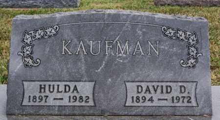 KAUFMAN, HULDA - Turner County, South Dakota   HULDA KAUFMAN - South Dakota Gravestone Photos
