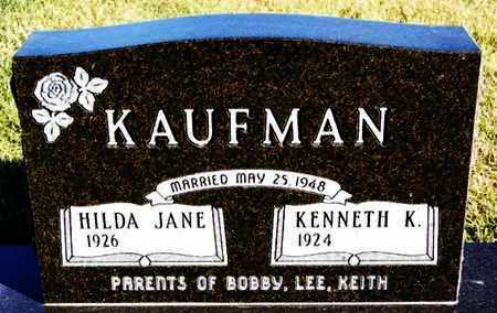 KAUFMAN, KENNETH K - Turner County, South Dakota | KENNETH K KAUFMAN - South Dakota Gravestone Photos