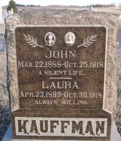 KAUFMAN, JOHN - Turner County, South Dakota | JOHN KAUFMAN - South Dakota Gravestone Photos