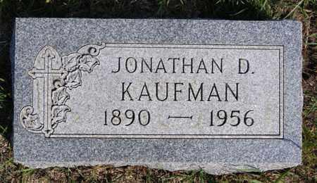 KAUFMAN, JONATHAN D - Turner County, South Dakota   JONATHAN D KAUFMAN - South Dakota Gravestone Photos