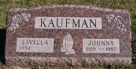 KAUFMAN, JOHNNY - Turner County, South Dakota | JOHNNY KAUFMAN - South Dakota Gravestone Photos
