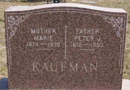 KAUFMAN, PETER J - Turner County, South Dakota | PETER J KAUFMAN - South Dakota Gravestone Photos