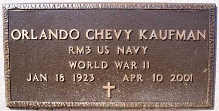 KAUFMAN, ORLANDO CHEVY (WWII) - Turner County, South Dakota | ORLANDO CHEVY (WWII) KAUFMAN - South Dakota Gravestone Photos