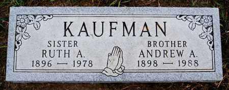 KAUFMAN, RUTH A - Turner County, South Dakota | RUTH A KAUFMAN - South Dakota Gravestone Photos