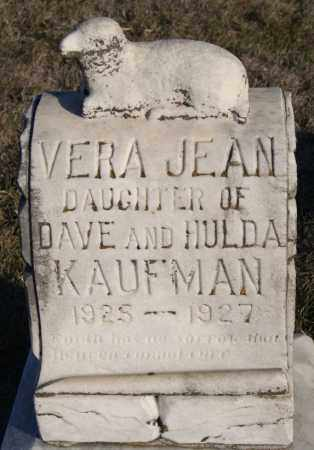 KAUFMAN, VERA JEAN - Turner County, South Dakota | VERA JEAN KAUFMAN - South Dakota Gravestone Photos