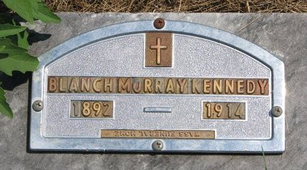 MURRAY KENNEDY, BLANCH - Turner County, South Dakota | BLANCH MURRAY KENNEDY - South Dakota Gravestone Photos