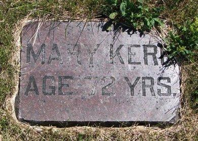 KERR, MARY - Turner County, South Dakota | MARY KERR - South Dakota Gravestone Photos