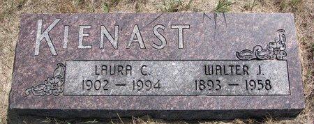 KIENAST, WALTER J. - Turner County, South Dakota | WALTER J. KIENAST - South Dakota Gravestone Photos