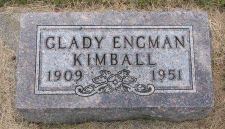 KIMBALL, GLADY - Turner County, South Dakota | GLADY KIMBALL - South Dakota Gravestone Photos