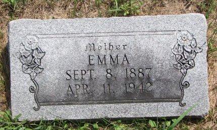 BORMAN KNEEBS, EMMA - Turner County, South Dakota | EMMA BORMAN KNEEBS - South Dakota Gravestone Photos