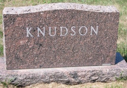 KNUDSON, *FAMILY MONUMENT - Turner County, South Dakota | *FAMILY MONUMENT KNUDSON - South Dakota Gravestone Photos