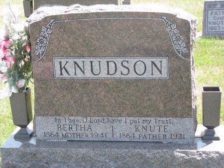 KNUDSON, BERTHA - Turner County, South Dakota | BERTHA KNUDSON - South Dakota Gravestone Photos
