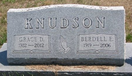 KNUDSON, GRACE DELORES - Turner County, South Dakota | GRACE DELORES KNUDSON - South Dakota Gravestone Photos