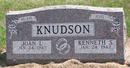 KNUDSON, JOAN L. - Turner County, South Dakota | JOAN L. KNUDSON - South Dakota Gravestone Photos
