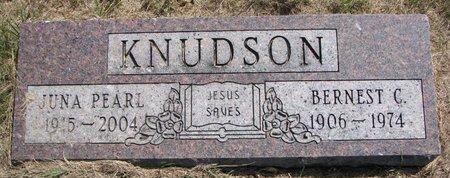 KNUDSON, BERNEST C. - Turner County, South Dakota | BERNEST C. KNUDSON - South Dakota Gravestone Photos