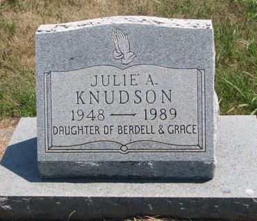 KNUDSON, JULIE A. - Turner County, South Dakota | JULIE A. KNUDSON - South Dakota Gravestone Photos