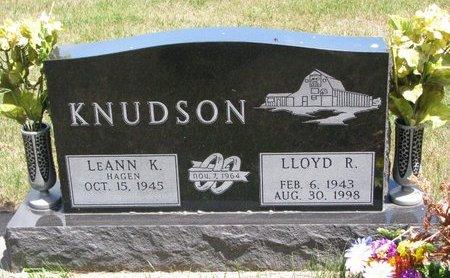 KNUDSON, LLOYD R. - Turner County, South Dakota | LLOYD R. KNUDSON - South Dakota Gravestone Photos