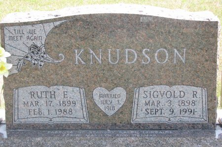 KNUDSON, SIGVOLD R. - Turner County, South Dakota | SIGVOLD R. KNUDSON - South Dakota Gravestone Photos