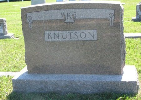 KNUTSON, *FAMILY MONUMENT - Turner County, South Dakota   *FAMILY MONUMENT KNUTSON - South Dakota Gravestone Photos