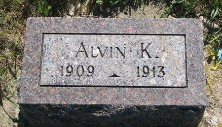 KNUTSON, ALVIN K. - Turner County, South Dakota | ALVIN K. KNUTSON - South Dakota Gravestone Photos