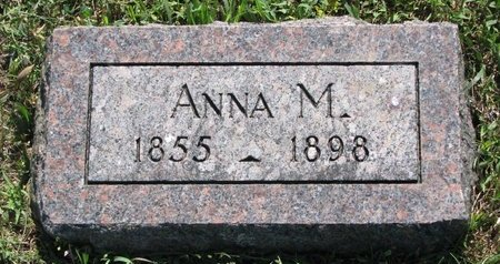 KNUTSON, ANNA M. - Turner County, South Dakota | ANNA M. KNUTSON - South Dakota Gravestone Photos