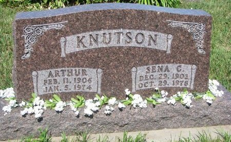 KNUTSON, ARTHUR - Turner County, South Dakota | ARTHUR KNUTSON - South Dakota Gravestone Photos
