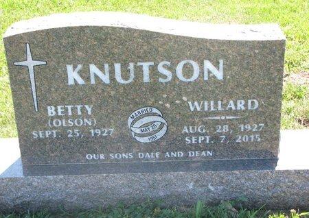 KNUTSON, BETTY - Turner County, South Dakota | BETTY KNUTSON - South Dakota Gravestone Photos