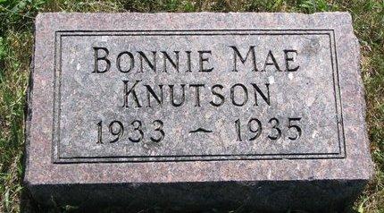 KNUTSON, BONNIE MAE - Turner County, South Dakota | BONNIE MAE KNUTSON - South Dakota Gravestone Photos