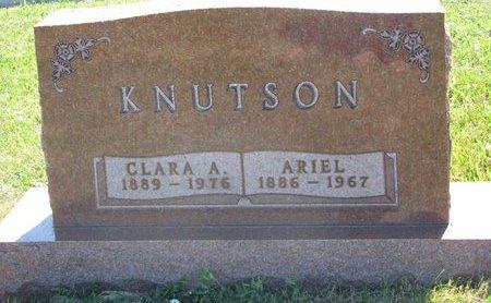 KNUTSON, ARIEL - Turner County, South Dakota | ARIEL KNUTSON - South Dakota Gravestone Photos