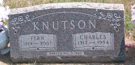 KNUTSON, FERN - Turner County, South Dakota | FERN KNUTSON - South Dakota Gravestone Photos