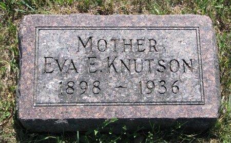 KNUTSON, EVA ESTHER - Turner County, South Dakota | EVA ESTHER KNUTSON - South Dakota Gravestone Photos