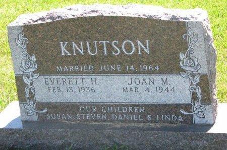 KNUTSON, EVERETT H. - Turner County, South Dakota   EVERETT H. KNUTSON - South Dakota Gravestone Photos
