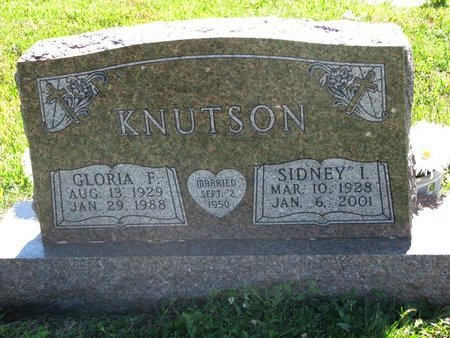 KNUTSON, GLORIA F. - Turner County, South Dakota | GLORIA F. KNUTSON - South Dakota Gravestone Photos