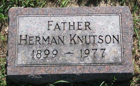 KNUTSON, HERMAN - Turner County, South Dakota | HERMAN KNUTSON - South Dakota Gravestone Photos