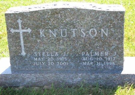 KNUTSON, PALMER J. - Turner County, South Dakota | PALMER J. KNUTSON - South Dakota Gravestone Photos