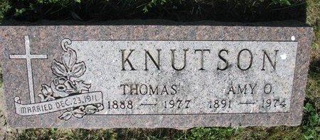 KNUTSON, THOMAS - Turner County, South Dakota | THOMAS KNUTSON - South Dakota Gravestone Photos