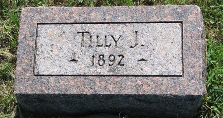 KNUTSON, TILLY J. - Turner County, South Dakota | TILLY J. KNUTSON - South Dakota Gravestone Photos