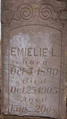 KOCK CLOSE UP, EMIELIE - Turner County, South Dakota | EMIELIE KOCK CLOSE UP - South Dakota Gravestone Photos