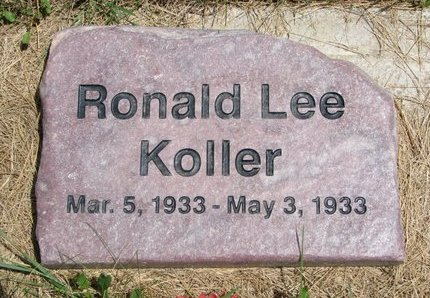 KOLLER, RONALD LEE - Turner County, South Dakota | RONALD LEE KOLLER - South Dakota Gravestone Photos