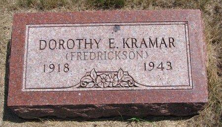 KRAMAR, DOROTHY E. - Turner County, South Dakota | DOROTHY E. KRAMAR - South Dakota Gravestone Photos