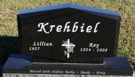 KREHBIEL, LILLIAN - Turner County, South Dakota | LILLIAN KREHBIEL - South Dakota Gravestone Photos
