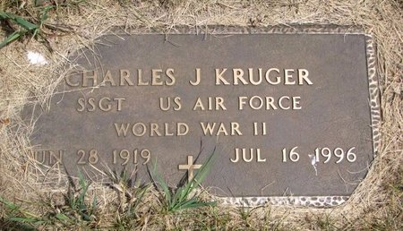 KRUGER, CHARLES J. (MILITARY) - Turner County, South Dakota | CHARLES J. (MILITARY) KRUGER - South Dakota Gravestone Photos